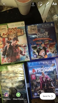 four assorted PS3 game cases Baltimore, 21229