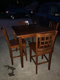 brown wooden table with four chairs Farragut, 37934
