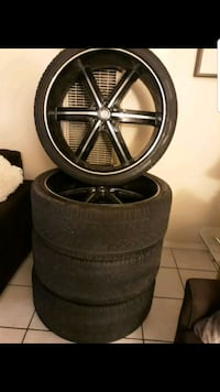 26 inch Rims and tires Bakersfield, 93308