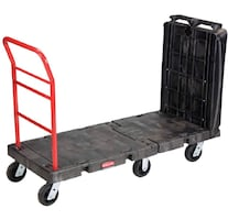 Rubbermaid Commercial 4496BLA Convertible Platform Truck Dolly