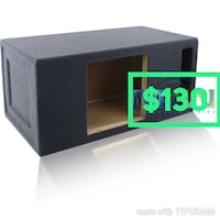 black subwoofer enclosure Santa Ana, 92706