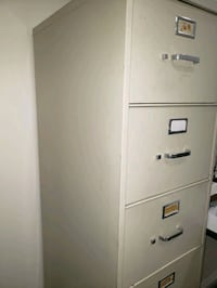 File cabinets  5 drawers