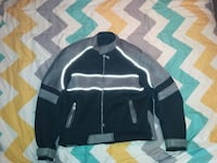 Black with grey motorcycle jacket  Windsor, N8R 1C7