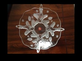 New Glass Bowl with original box Great Christmas Gift
