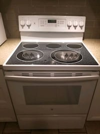 G.E. Glass Top Stove $400 OBO Burlington