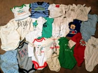 EUC baby boy onsies and sleepers Mississauga, L5H 1H1