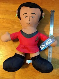Star Trek Uhura Soft Doll Alexandria, 22309