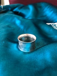 Real Silver Marked Ring