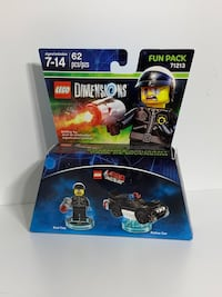 LEGO Dimensions Bad Cop Lego Movie Xbox Game Character Etters, 17319