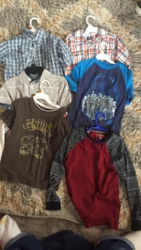 6 small youth t-shirts