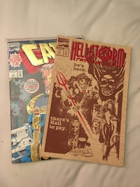 Cable 1st issue collectors item and Hellstorm prince of lies comics