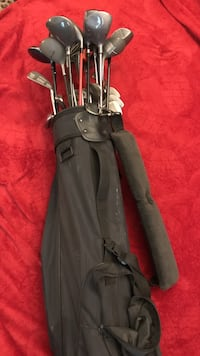 Assorted golf drivers and golf bag Athens, 30605