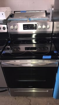 New Frigidaire stainless steel electric stove 6 months warranty
