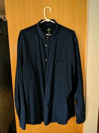 black button-up long-sleeved shirt Sudbury, P3N 1C4