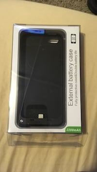 Iphone 5,5s,se rechargeable power case