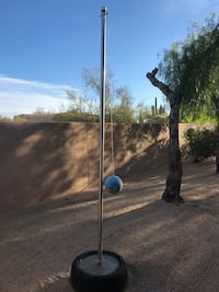 Tether ball set (pole, heavy duty base and tether ball) Scottsdale, 85266