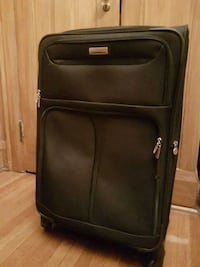 Air Canada Large Black Suitcase