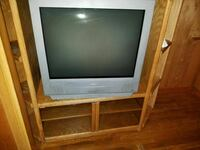 Tv and and entertainment center
