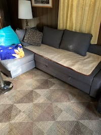 Ikea couch pullout bed