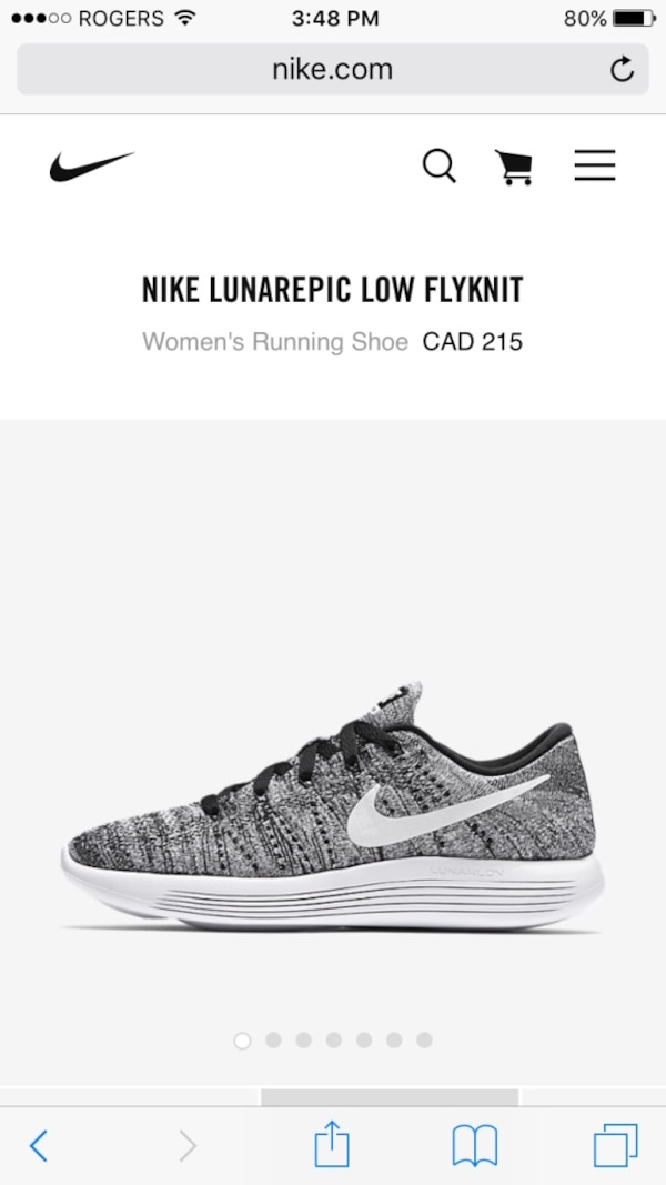 c1f619a4fc154 Used Brand New women s Nike lunarepic low flyknit for sale in Port  Coquitlam - letgo