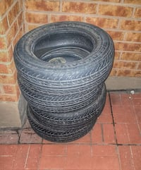4 Tires for sale 15inch