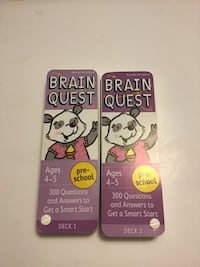 BRAIN QUEST - PRE-SCHOOL: 300 QUESTIONS AND ANSWERS