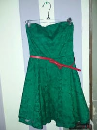green and red spaghetti strap dress North Las Vegas, 89030