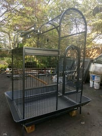 New bird cage, damaged in box Annandale