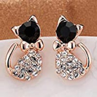 Cat Kitten Kitty Studs Earrings Set Lanham