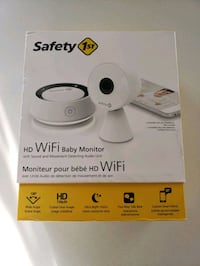HD WiFi Baby Monitor with Sound and Movement Detecting Audio Unit