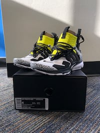 Air Presto Mid x Acronym Racer Yellow Miami, 33176
