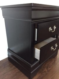 New Black Nightstand(s) Silver Spring