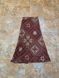 Medium Long pattern skirt