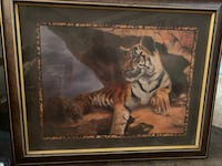 Large tiger painting Mountain View, 94040
