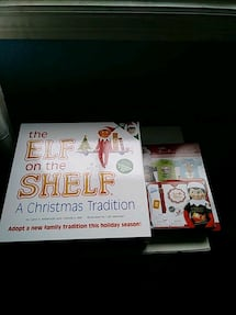 Elf on the Shelf and accessories
