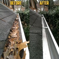 Gutter clean  Text for free quote