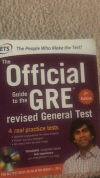 Official GRE textbook  Ashburn, 22204