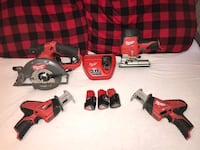 Cordless Power Tools By: Milwaukee