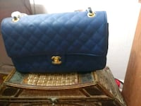 blue leather quilted crossbody bag Birmingham, 35214