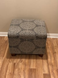 Upholstered Storage Ottoman (Excellent  Condition) Irvine, 92620