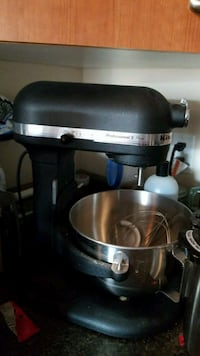 stainless steel and black KitchenAid stand mixer Edmonton, T6W 2C3