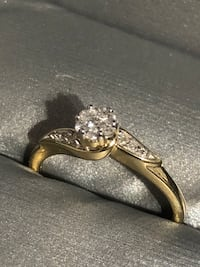 14k diamond ring Kelowna