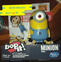 New! Minions Bop-It ~ Great FUN and laughs JUST$5.