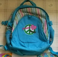 Blue peace/love backpack with supplies  Clinton, 01510