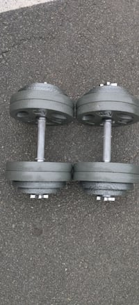 Brand New Cast Iron 120lb Dumbbell Set (60lb Each) Fairfax