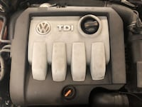 2007 Volkswagen VW Passat 1.9 Tdi BXE Complete Engine LONDON