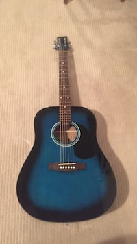 blue burst dreadnought acoustic guitar Abbotsford, V2T 5K5