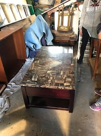 Coffee table  hidden compartments Toronto, M6M 3Z8
