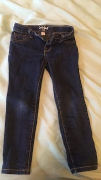Size 4 girls straight leg jeans  Triangle, 22172