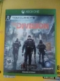 Xbox One The Division game case Wesley Chapel, 33545